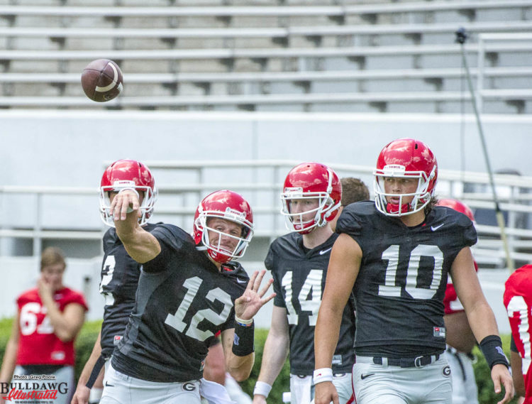 Brice Ramsey lets it fly