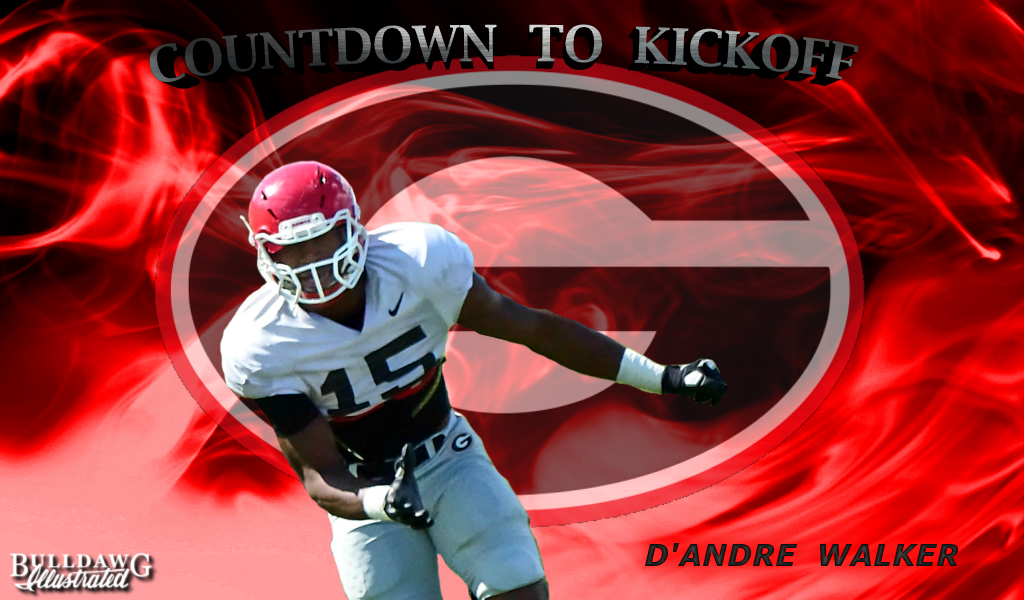 Countdown to Kickoff 2016 No15 D'Andre Walker edit by Bob Miller
