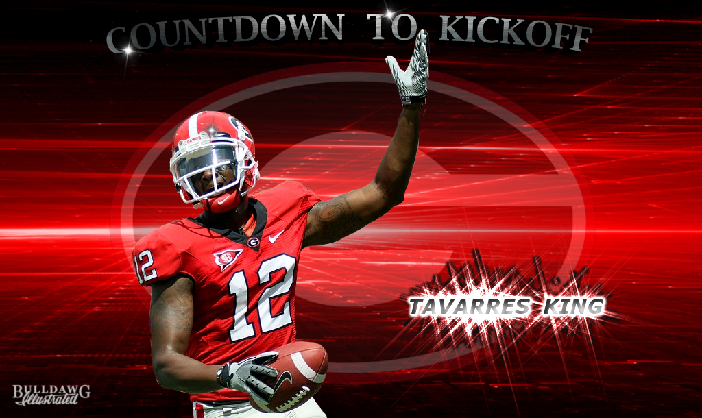 Tavarres King edit by Bob Miller (photo courtesy of UGA)