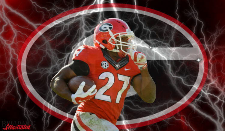 Nick Chubb 2016 edit by Bob Miller