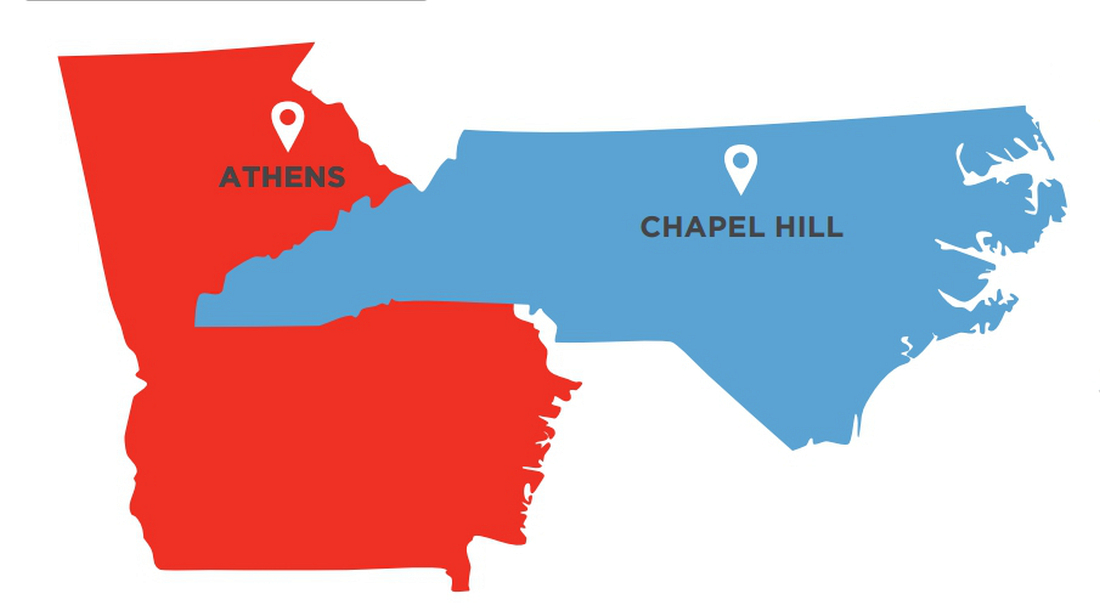 Whatchagot Loran - Chapel Hill - Athens GA graphic for issue 02
