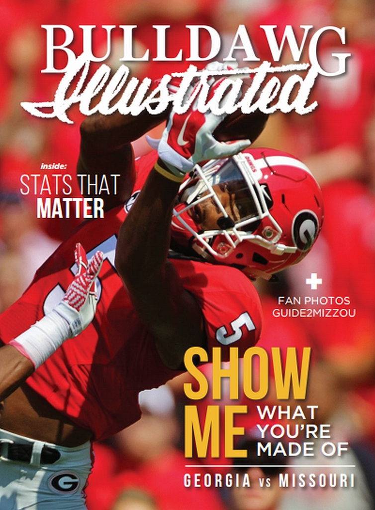 Cover photo of Georgia WR Terry Godwin by Rob Saye (COVER DESIGN: Hannah Groseclose)