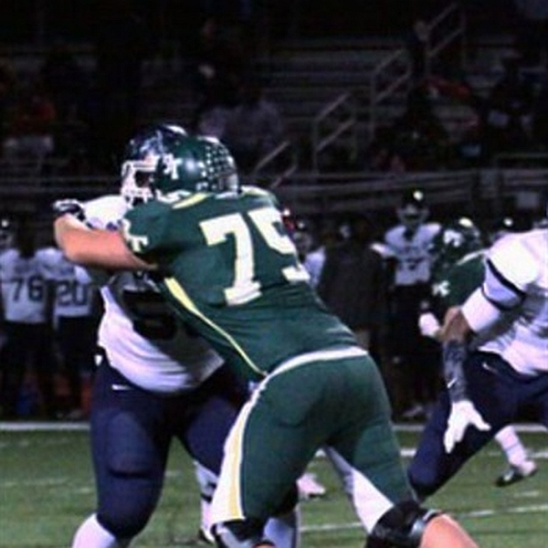 Jacob Bolton - Class of 2017 OT - Blessed Trinity HS, Roswell, GA (photo Hudl.com)