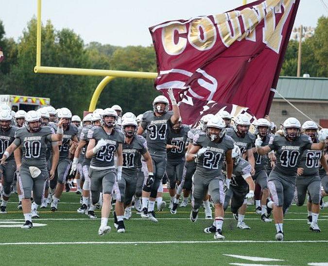 Luke Martin (34) - Dawson County High School Varsity Football (photo Luked Martin - Twitter)