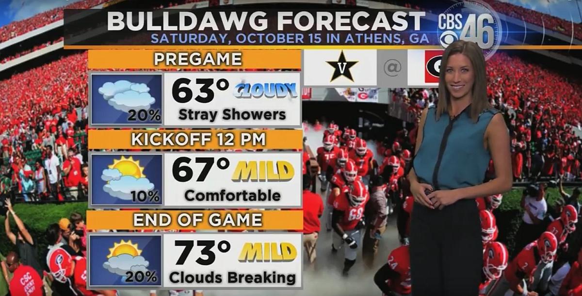 Ella's Bulldawg Forecast - Vanderbilt