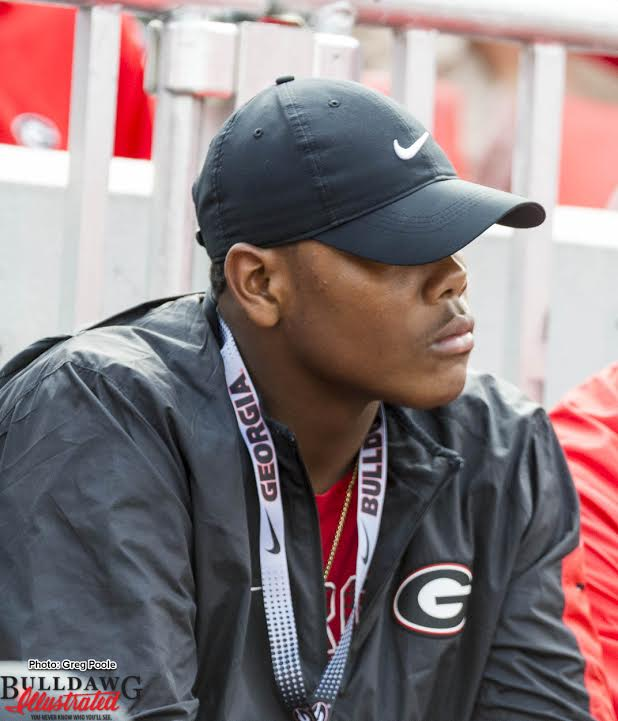 Travon Walker Class of 2019 DL (photo by Bulldawg Illustrated's Greg Poole)