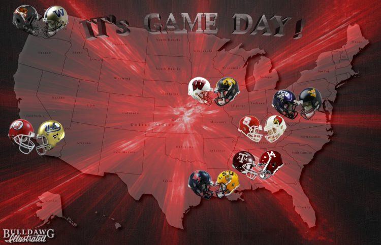 It's Game day - week 8 edit by Bob Miller