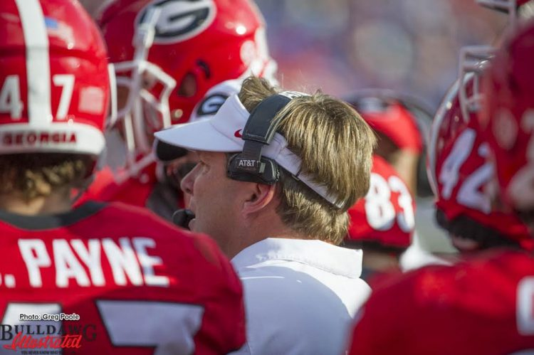 Kirby Smart - Georgia-Florida - 29-Oct-2016