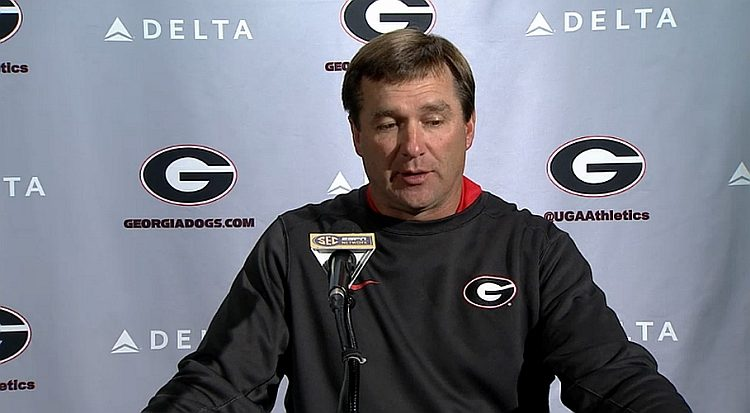 Kirby Smart Press conference 31-Oct-2016 (Photo Bulldawg Illustrated)