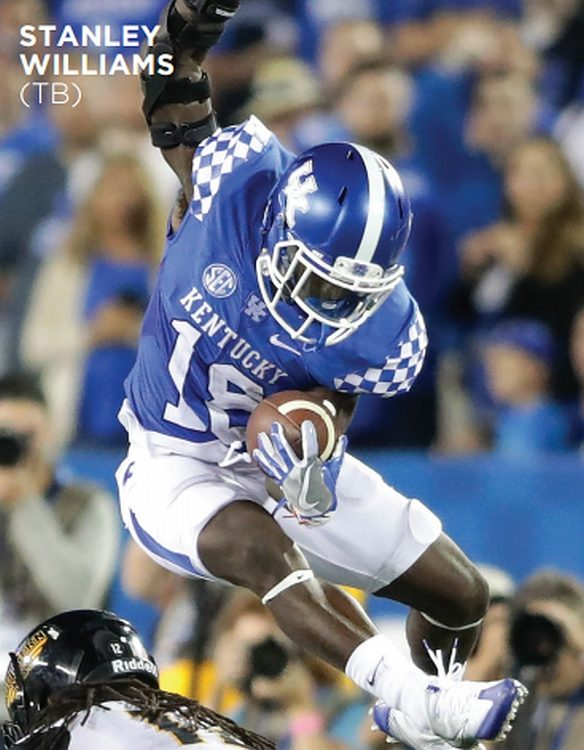 Stanley Boom Williams (Photo: Kentucky Athletic Department)