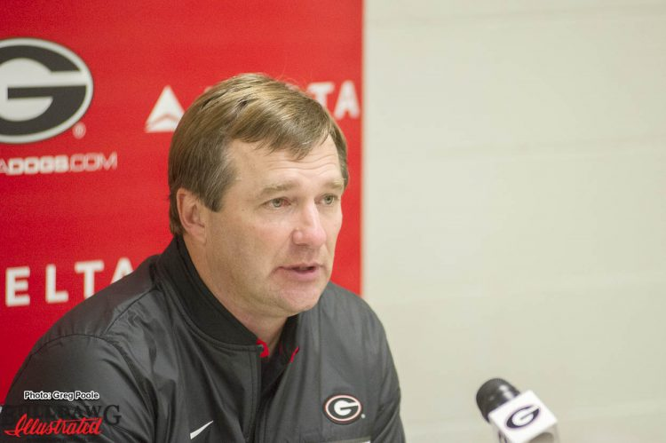Kirby Smart - post Kentucky game press conference