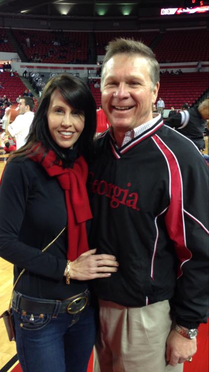 Sandra Kate and Judge John Ellington