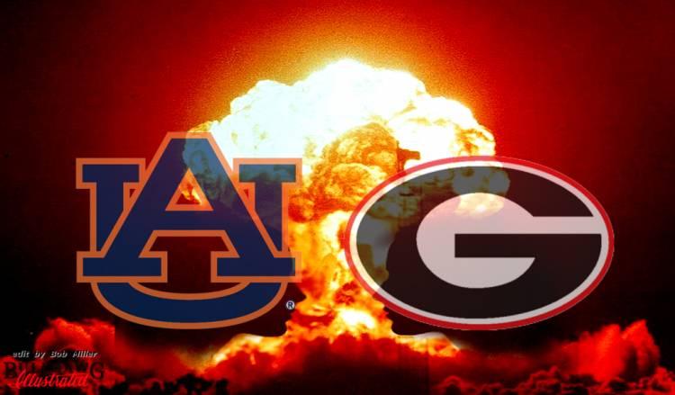 Georgia vs Auburn 2016 edit by Bob Miller
