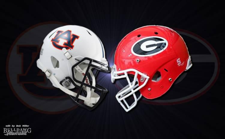 Georgia vs Auburn 2016 graphic edit by Bob Miller