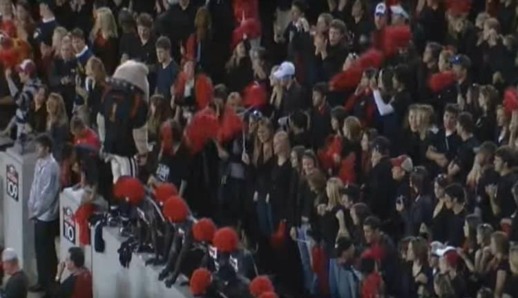 2007 Georgia 'Black Out' game vs Auburn (YouTube screen capture)