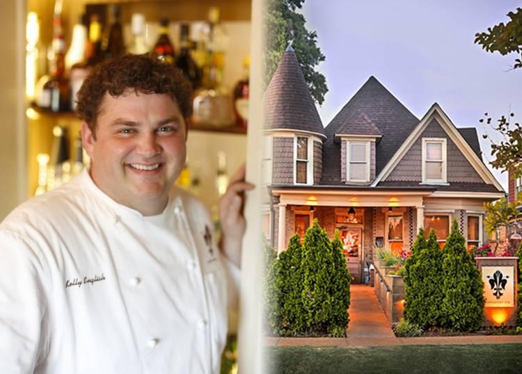 Chef Kelly English and Restaurant Iris