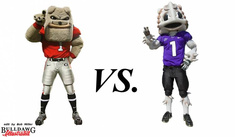 Bulldogs vs Frogs edit by Bob Miller for Friday Morning QBs