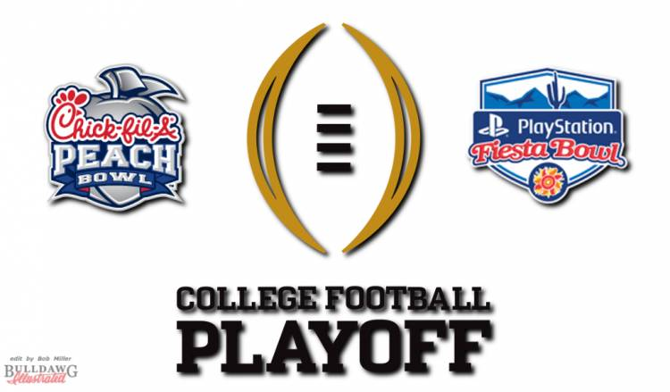 College Football Playoff graphic edit by Bob Miller