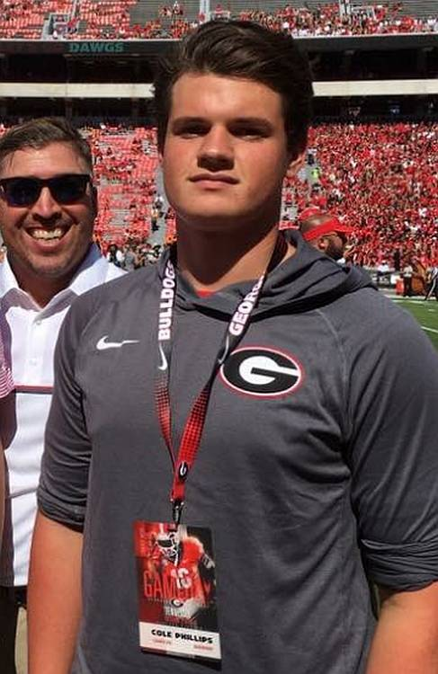 Cole Phillips, Class of 2017 Kicker (photo from Cole Phillips - Twitter).jpg