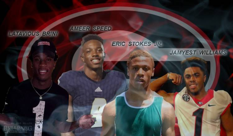 Latavious Brini, Ameer Speed, Eric Stokes Jr., Jamyest Williams edit by Bob Miller