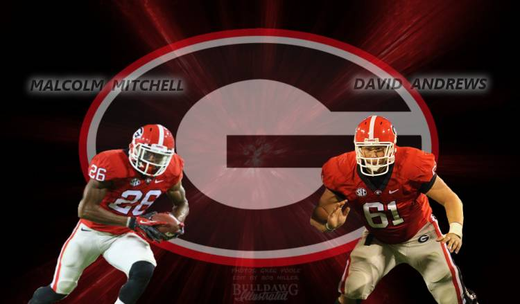 Malcolm Mitchell and David Andrews edit by Bob Miller
