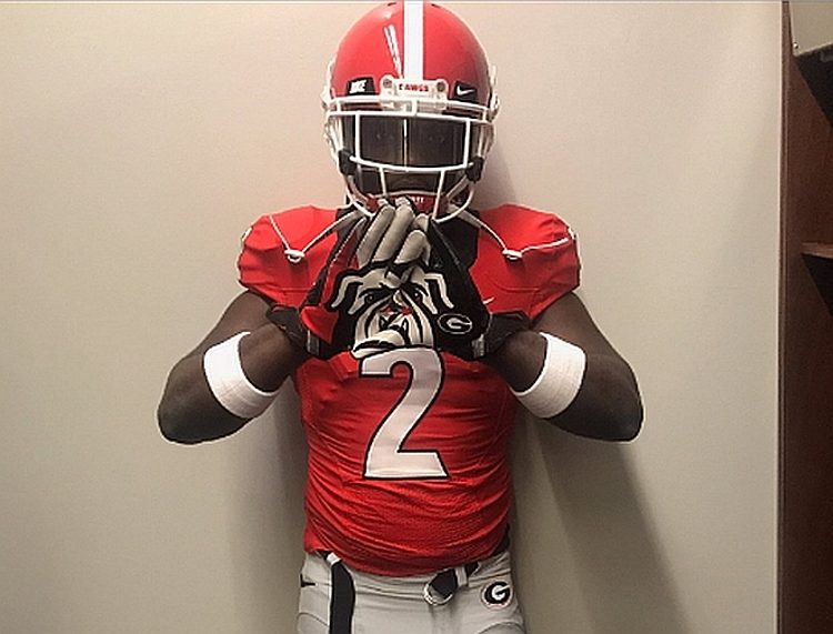 Donovan Georges - Class of 2018 ILB (photo from Donovan Georges - Twitter)