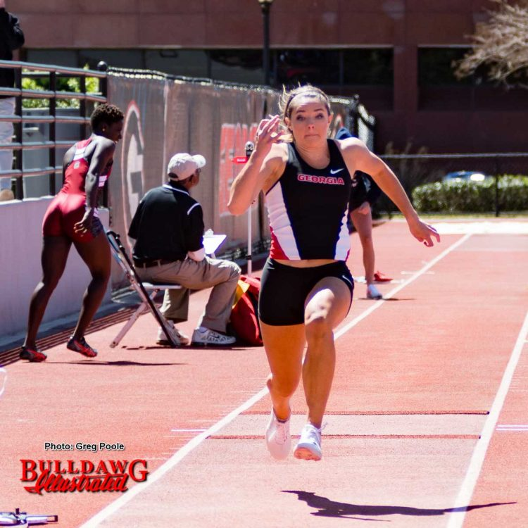 UGA long jumper Kate Hall (1)