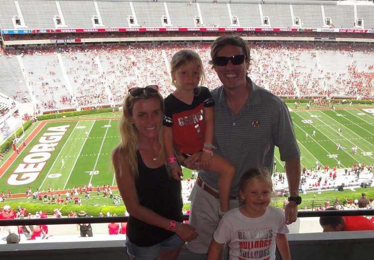 Courtney, Chase, McKinley and Breckyn Lawrence