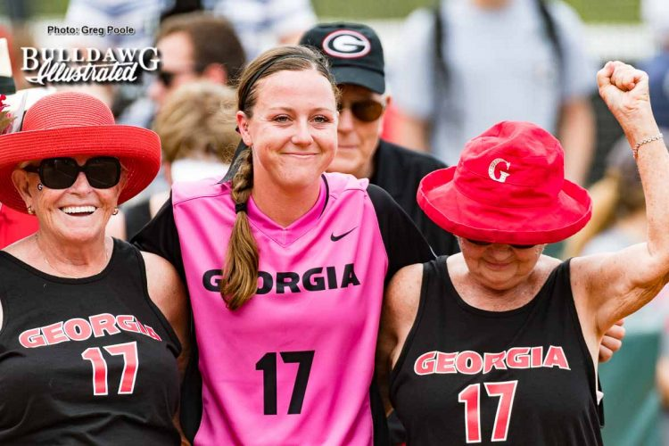 Maeve McGuire – Senior Day – Georgia vs. South Carolina – April 29, 2017