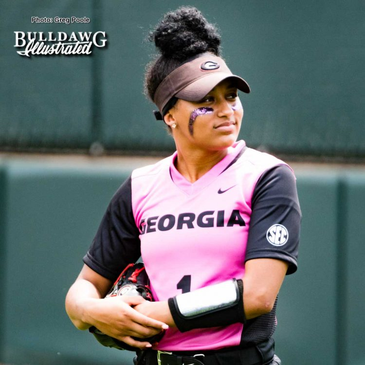 Cortni Emanuel – Georgia vs. South Carolina – April 29, 2017