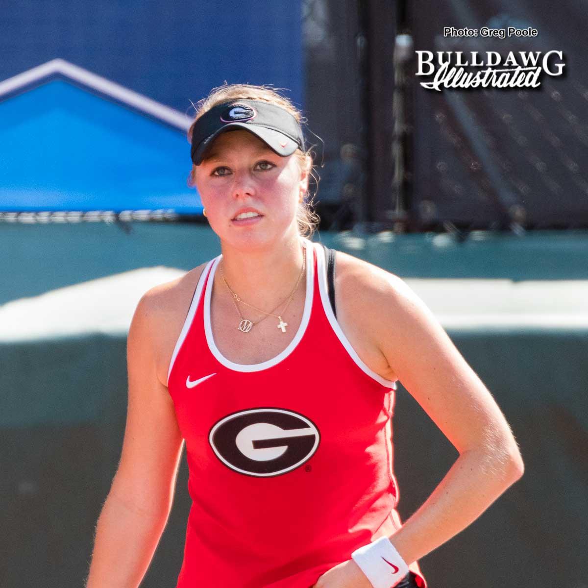 Mariana Gould – Georgia vs. Pepperdine – NCAA Round of Sixteen – May 19, 2017