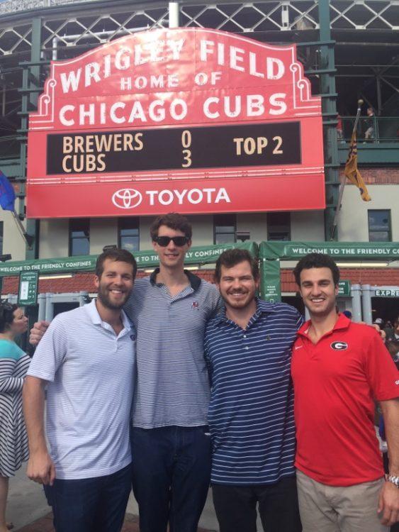 Ryan Brenner, Brooks Stamper, Max Graney, and Joey Viola