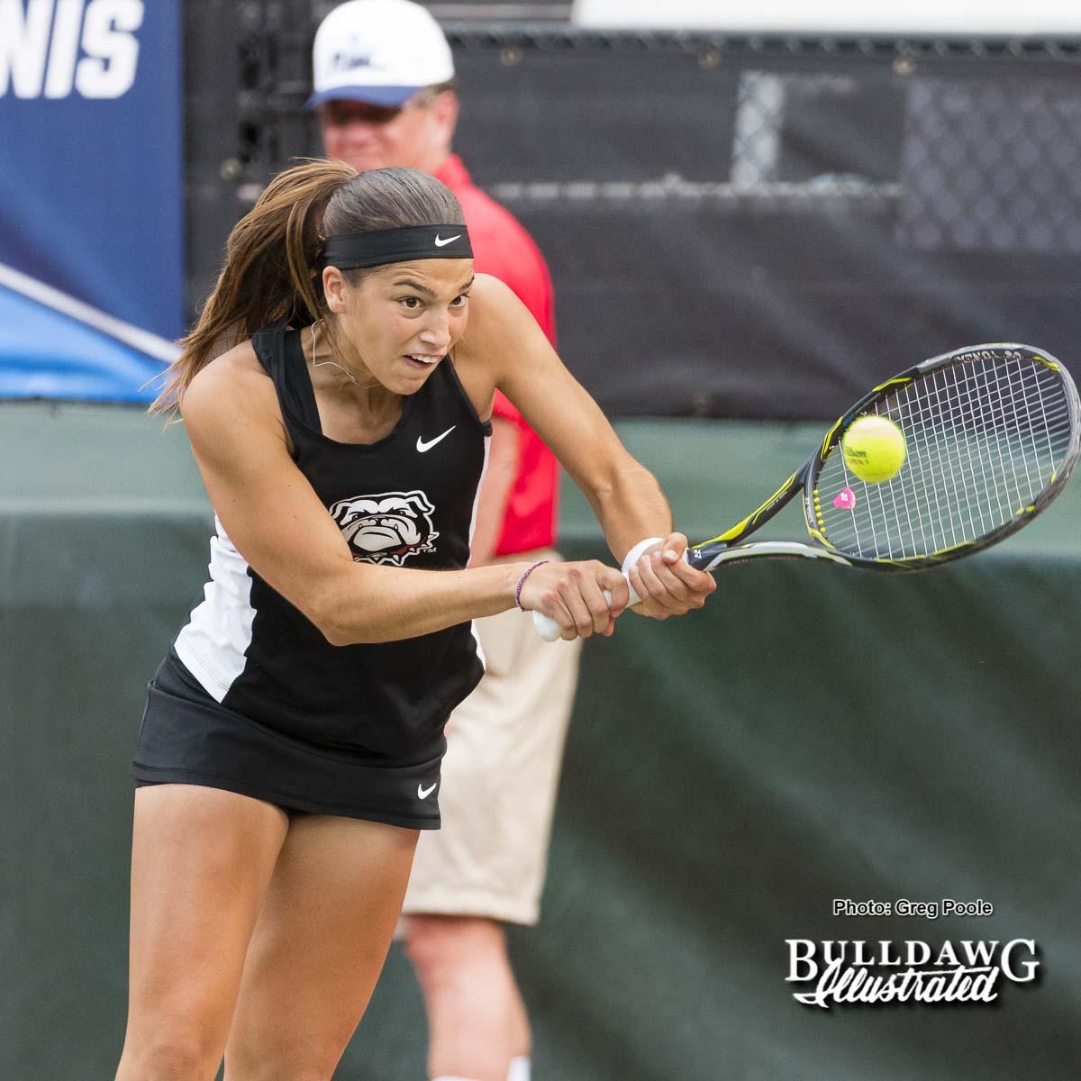 Elena Christofi - NCAA Doubles Quarterfinals – May 27, 2017