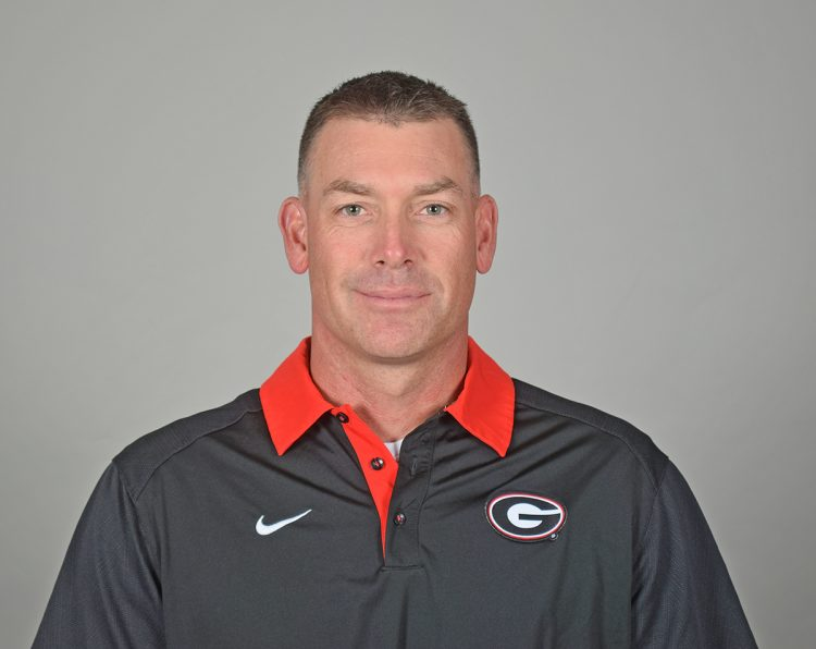 UGA pitching coach Sean Kenney