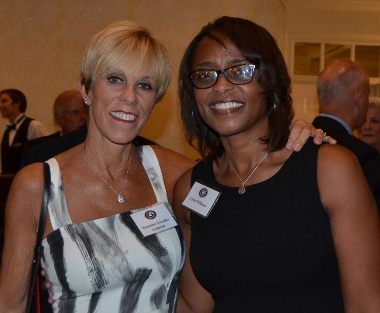 Suzanne Leebern and Carla Williams