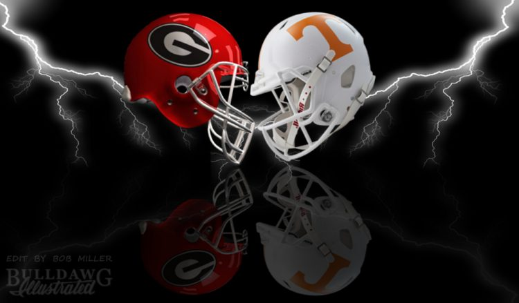 UGA vs Tennessee 2017 edit by Bob Miller/Bulldawg Illustrated