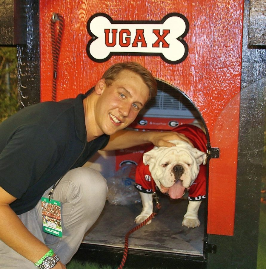 Chase Kalisz and Uga X (Photo by Rob Saye)