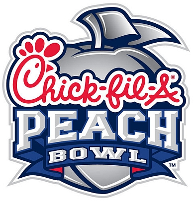 Peach Bowl Inc Chick-fil-A Peach Bowl Logo