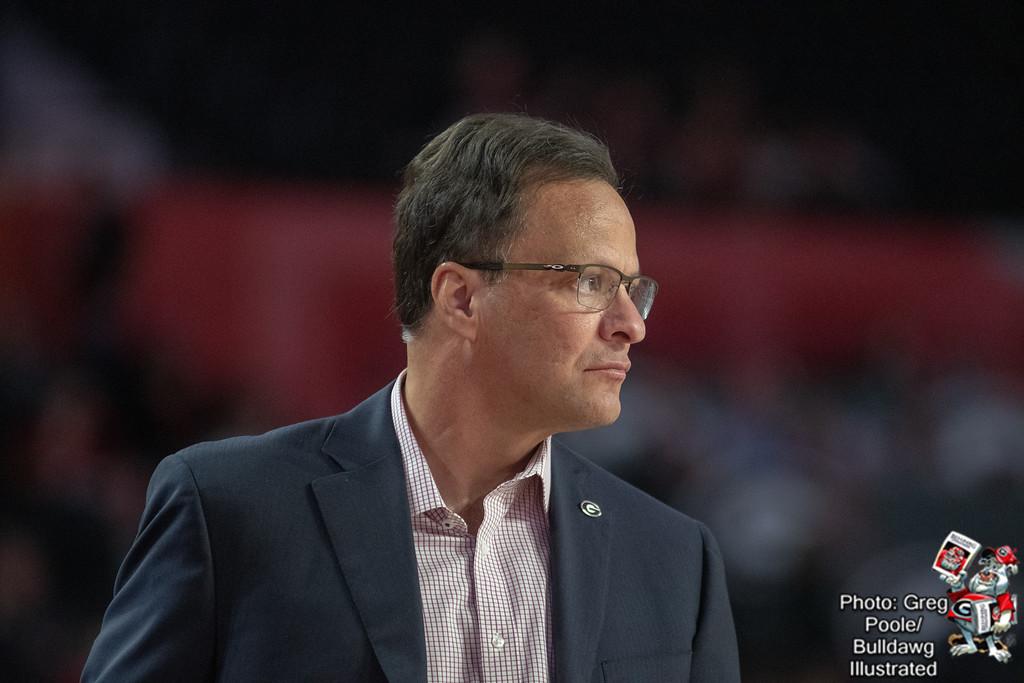 Tom Crean - Georgia vs. Sam Houston State 2018