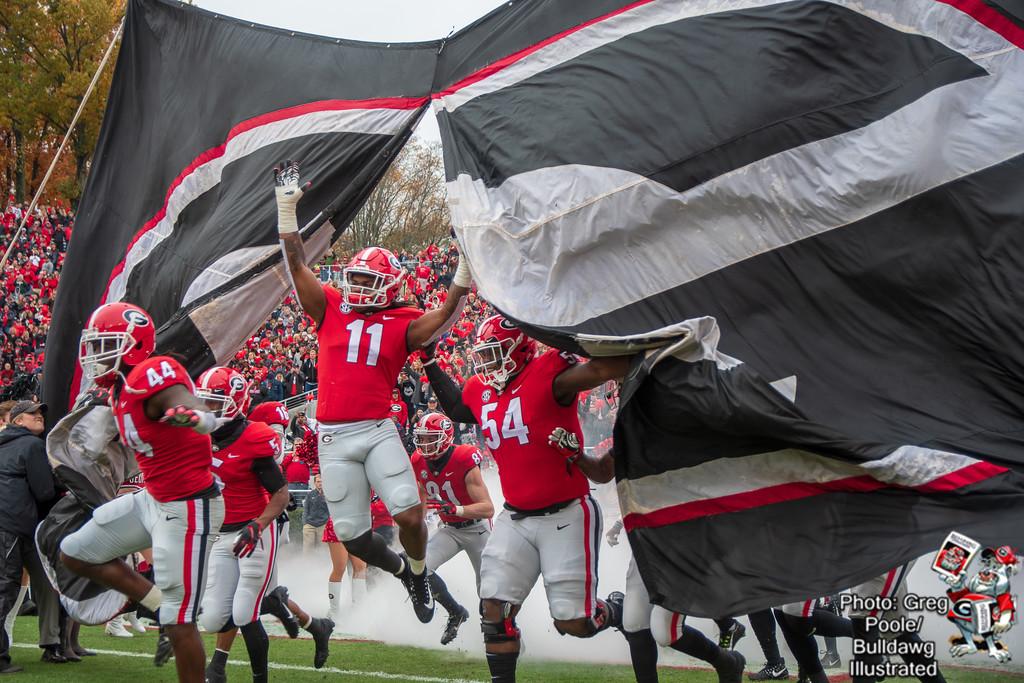 Entering Sanford Stadium - Georgia vs. Georgia Tech 2018