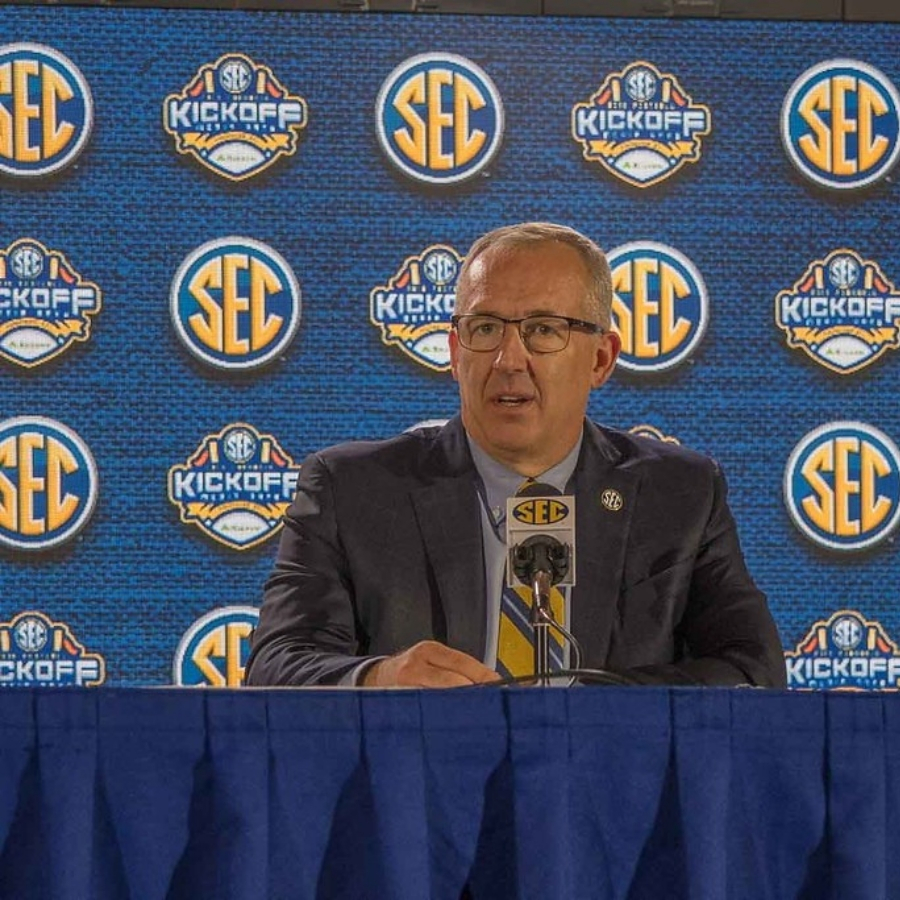 SEC Commissioner Greg Sankey