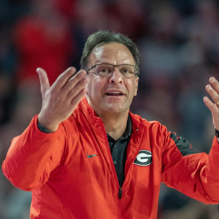 Tom Crean - Georgia vs. Texas 2019 - January 27, 2019