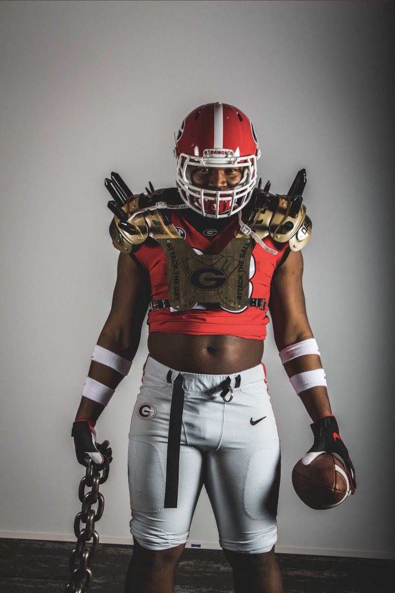 Class Of 2020 4-Star DT Jalen Carter Commits To The Georgia Football Program