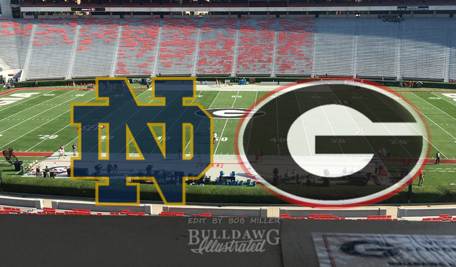 From the Press Box Georgia vs. Notre Dame edit by Bob Miller