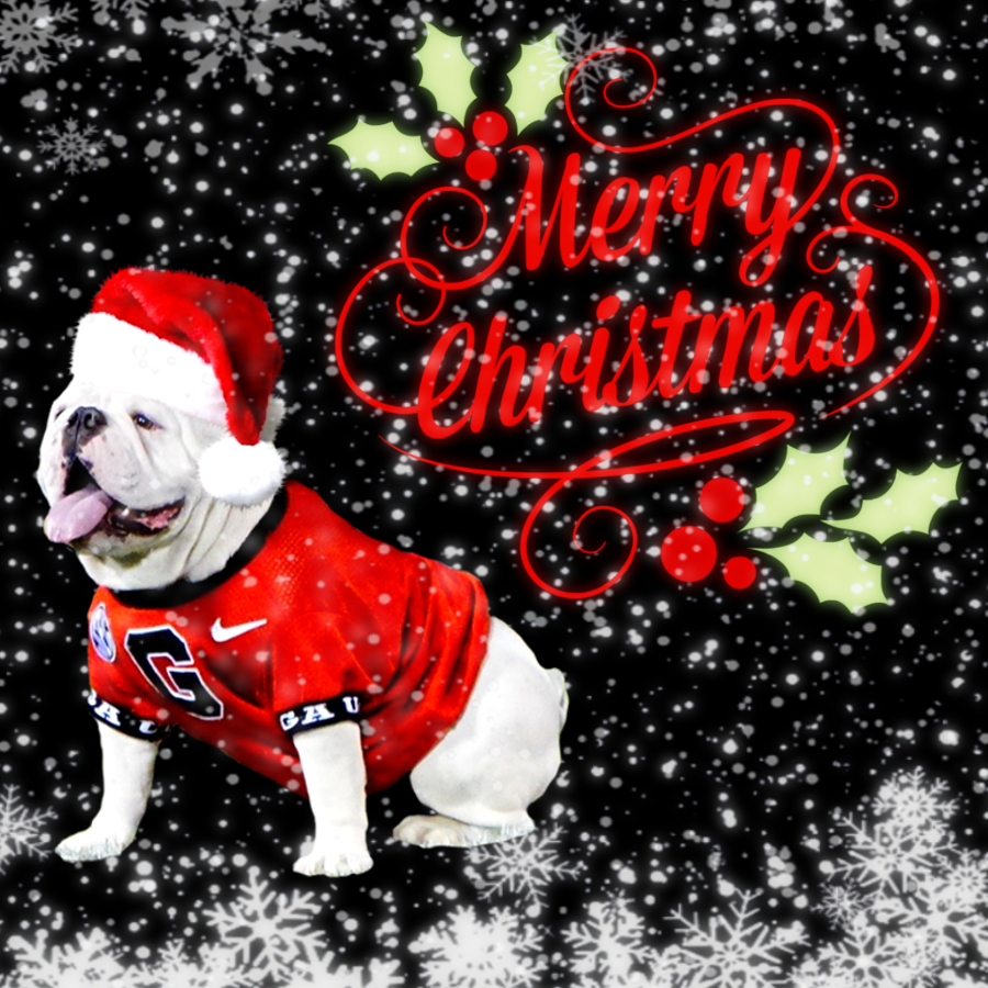 2019-12-25 Christmas Daily Dawg Thread graphic edit with Wonder and Snow effects by Bob Miller