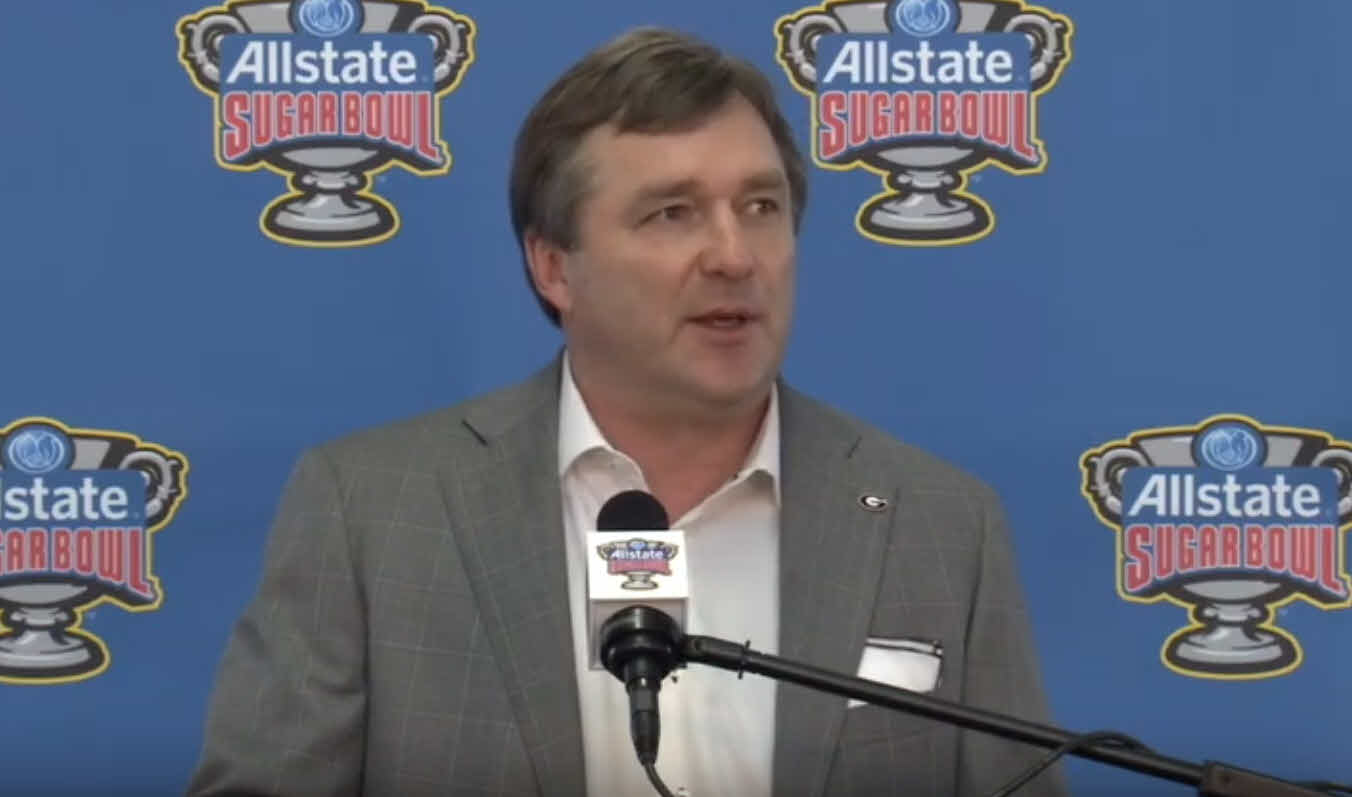 Kirby Smart Arrival Presser - 2020 Sugar Bowl
