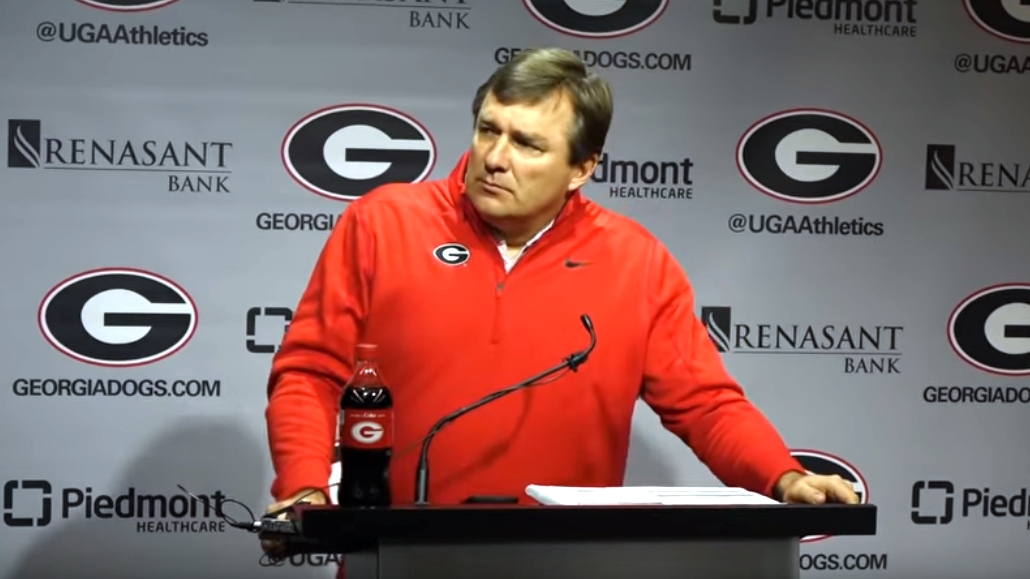 Kirby Smart during UGA football's National Signing Day Press Conference on Wednesday, February 5, 2020