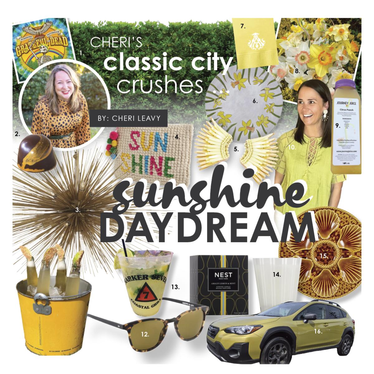 cheri's classic city crushes: sunshine daydream