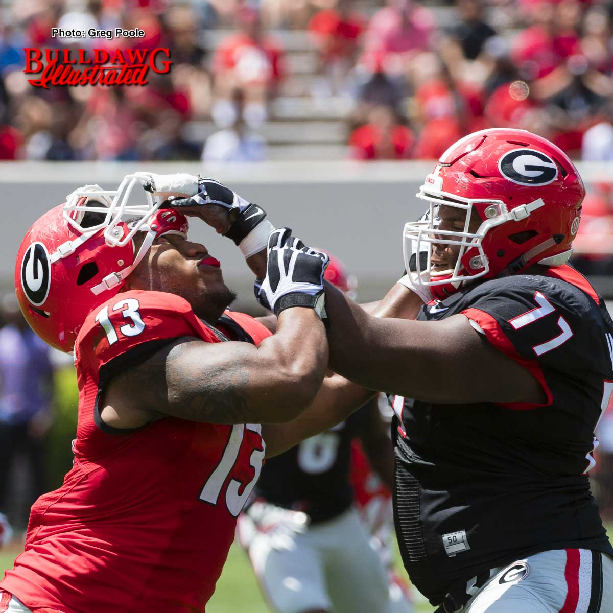 Projecting Georgia S 2017 Offensive Line Depth Chart Bulldawg Illustrated
