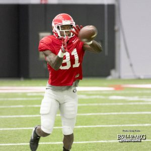 Mark Webb, Jr. - UGA Fall Camp - Practice No. 22 - Thursday, August 24, 2017